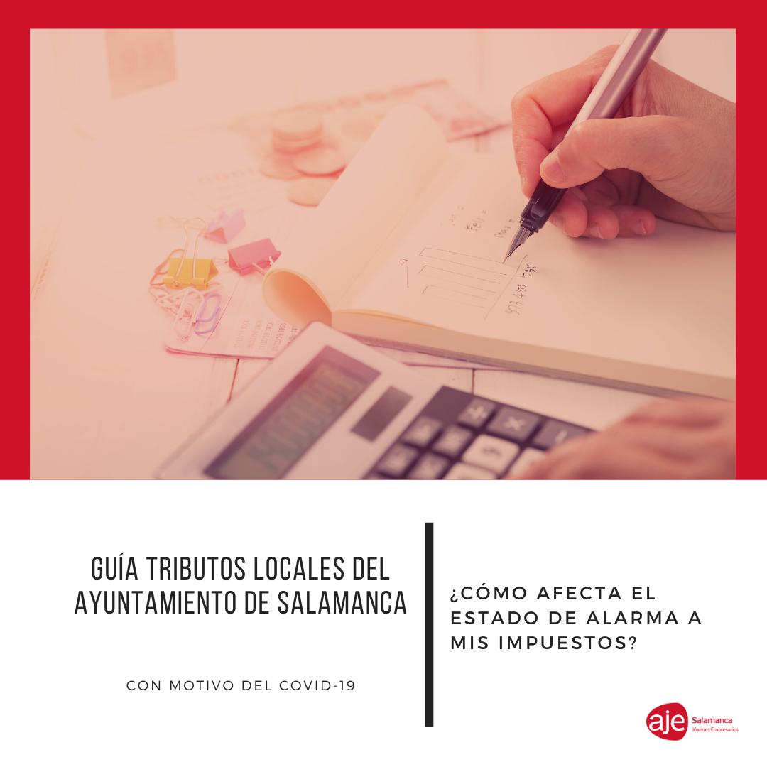 Guía tributos locales Ayto Salamanca